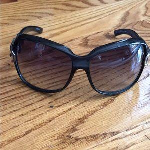 Black Gucci Buckle Sunglasses